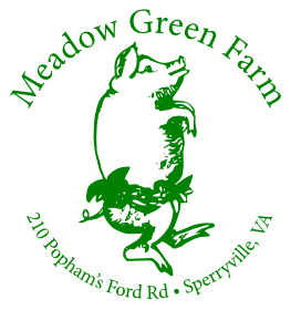 Come dance with the pigs at Meadow Green Farm in Sperryville, Virginia